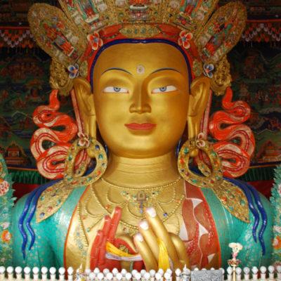 Buddha monastery a leh