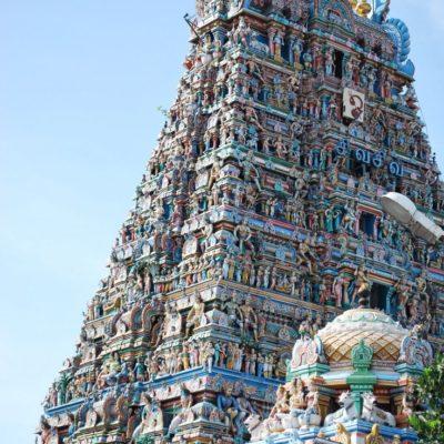 Il tempio della dia Meenakshi in Madurai