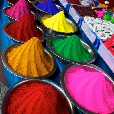 viaggi in india - i colori degli indiani
