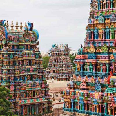 Viaggi in India- Tempio di Meenakshi a Madurai