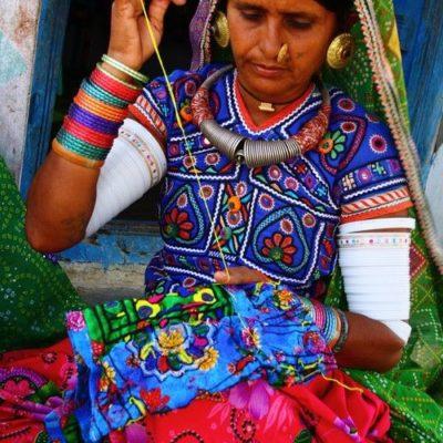 Donna Rabari a Gujarat