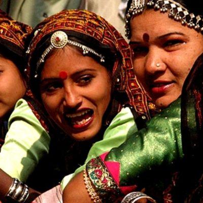Le ragazze del Gujarat
